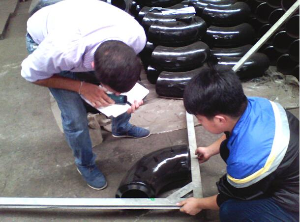 inspection For High Pressure Steel Fittings